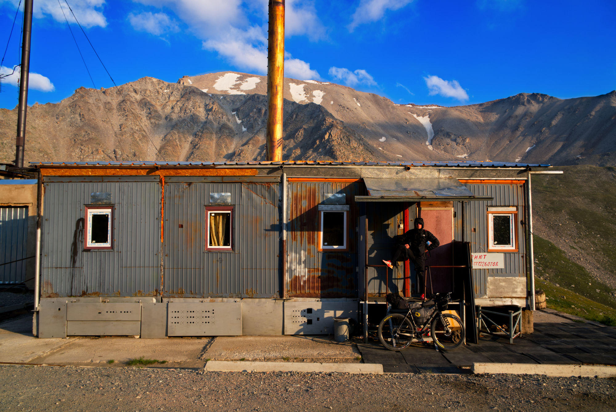Kosmo-Station in Kazakhztan at Big Almaty Lake