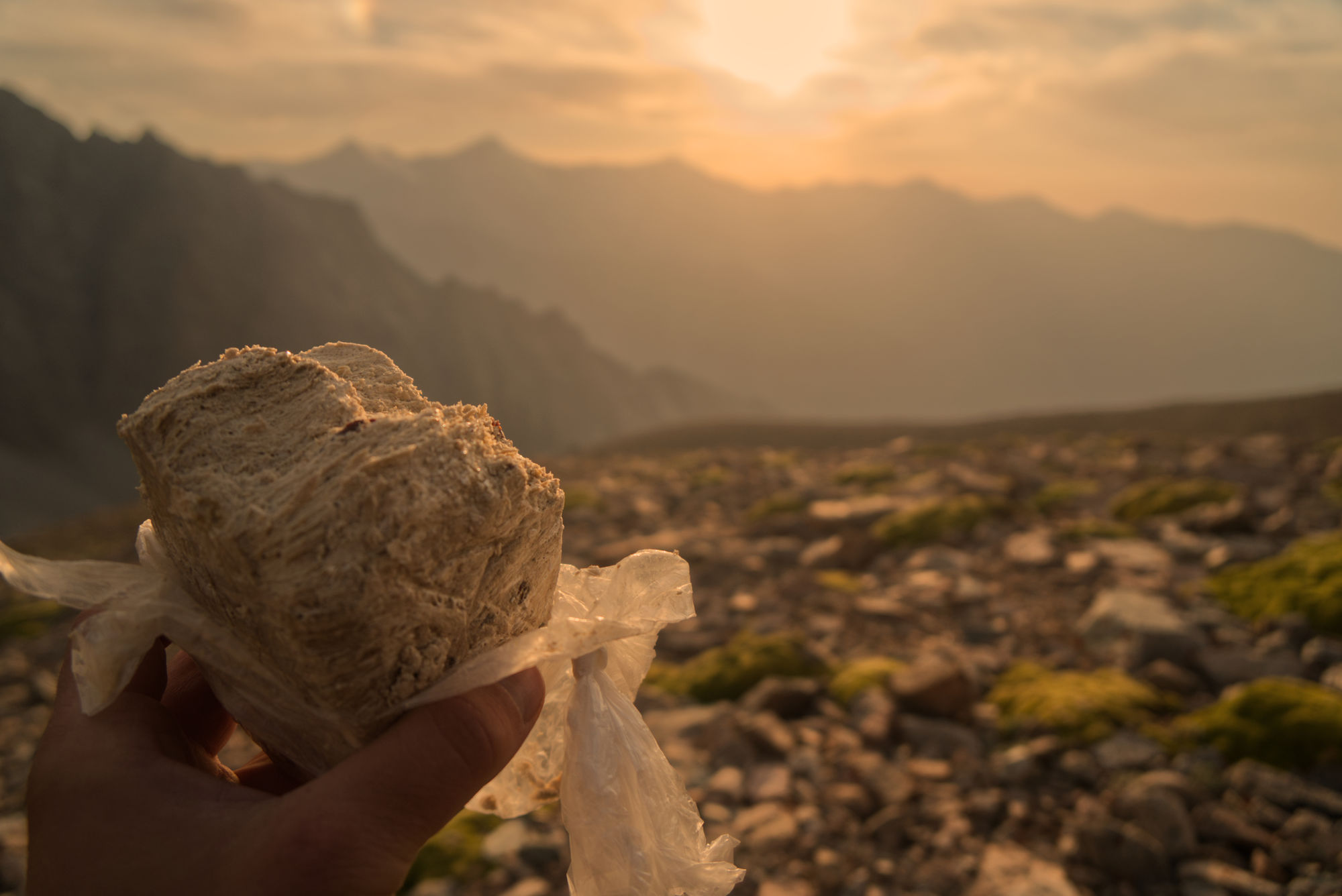 Halva - best high calory food that I found in Kyrgyzstan.