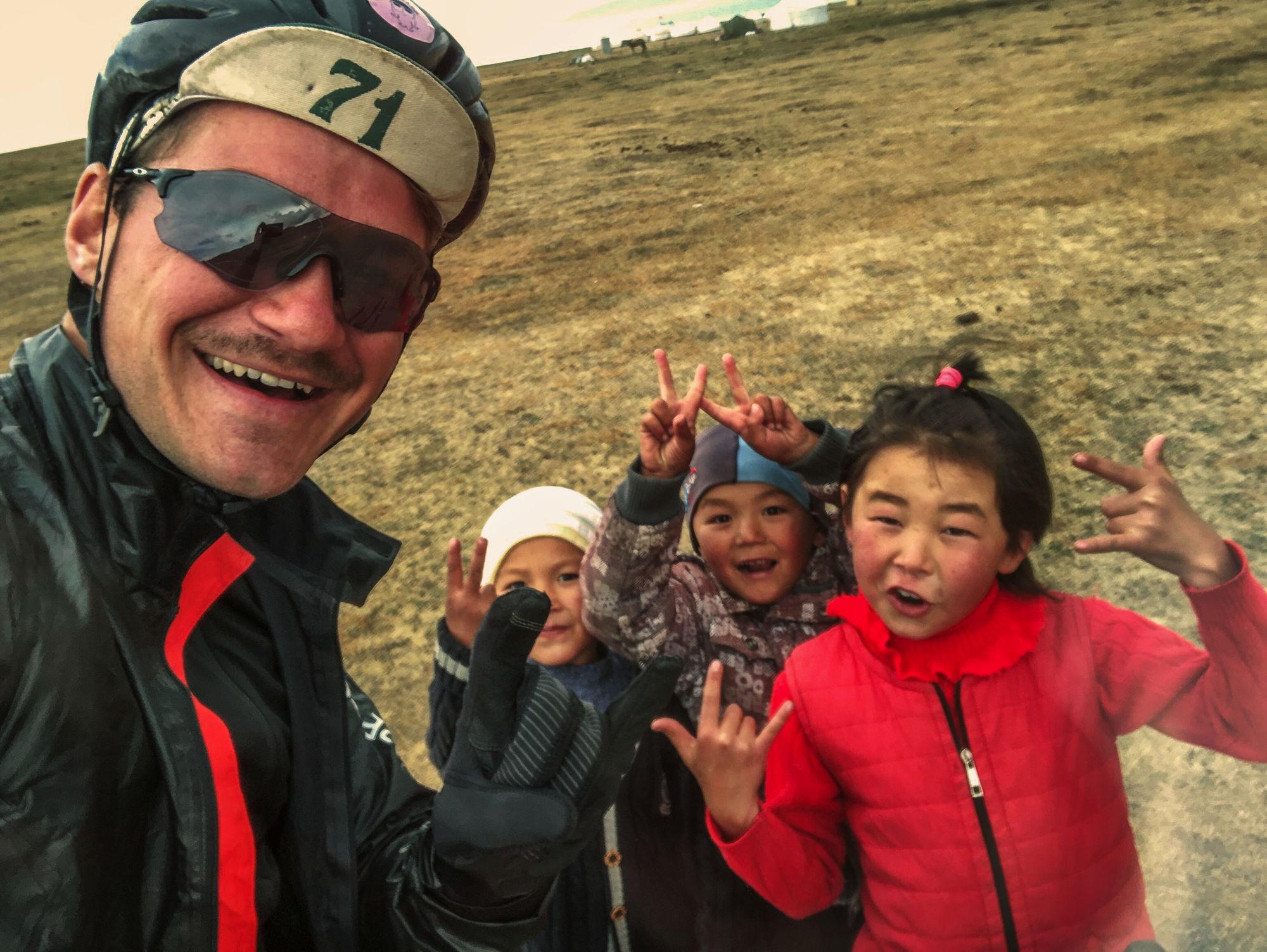 Kyrgyz kids.