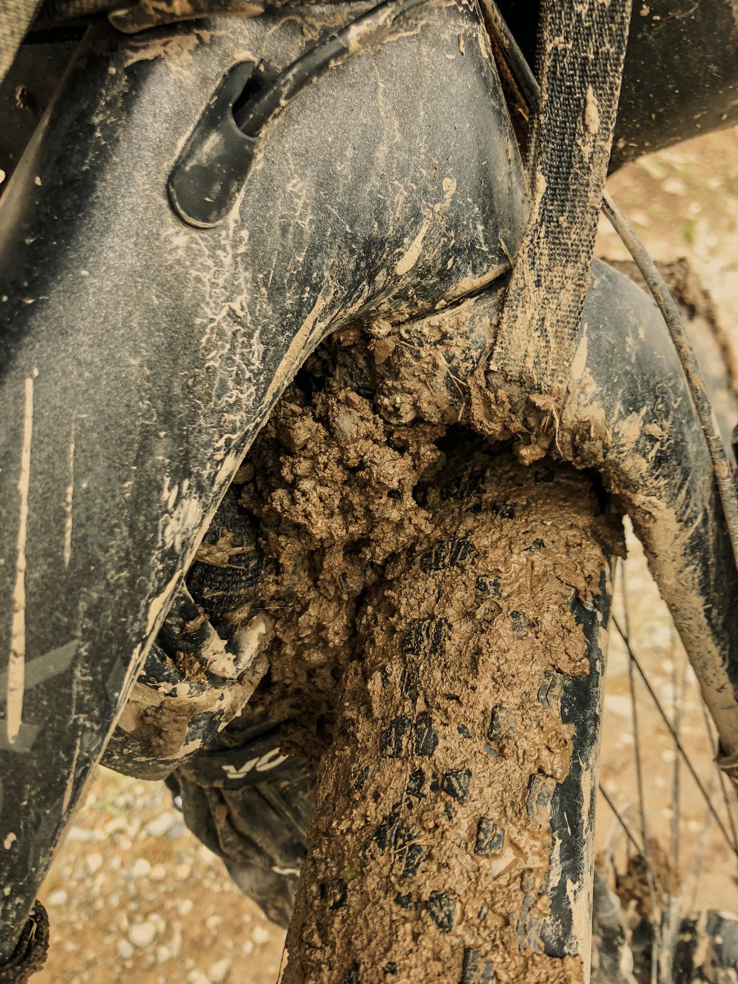 Mud on the Bombtrack.