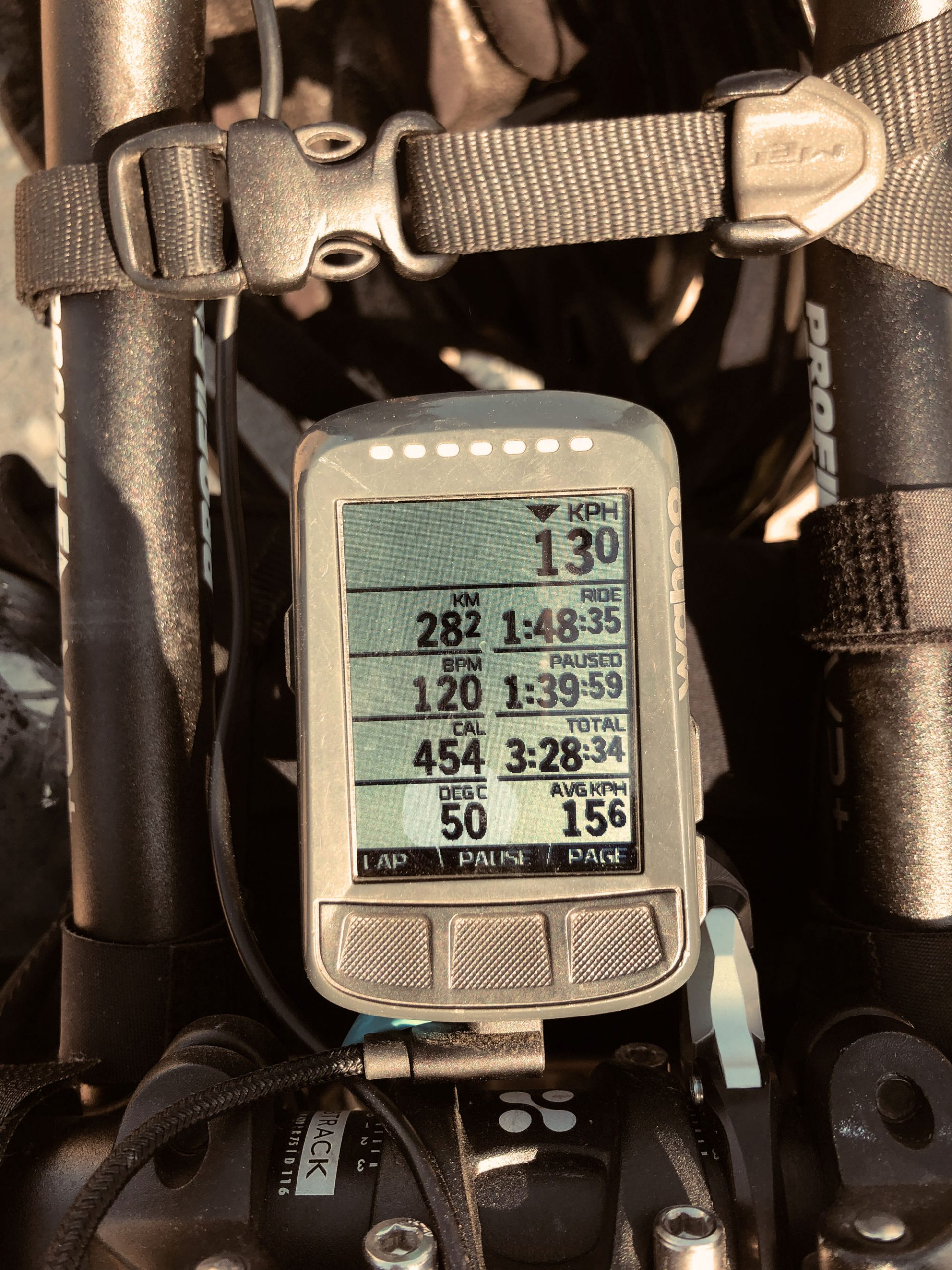 50 degrees while training in Kazakhztan