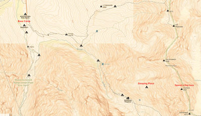 Map Ala Archa National Park