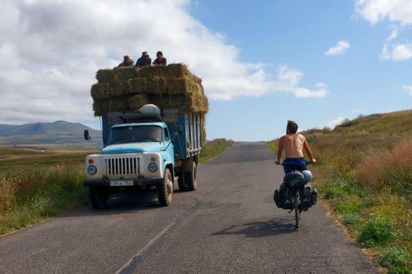 Traffic on Armenian roads