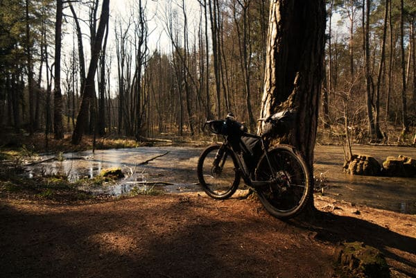 Bikepacking in Brandenburg