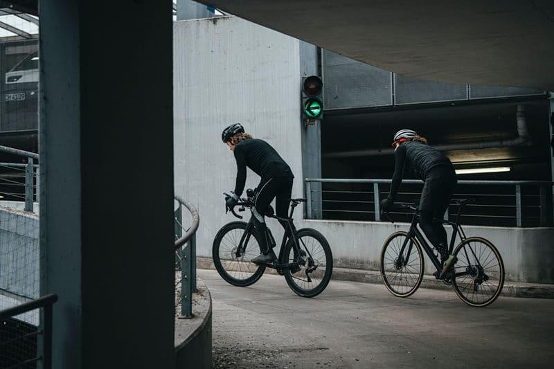 Raphael Albrecht and Magnus Heller on another climb